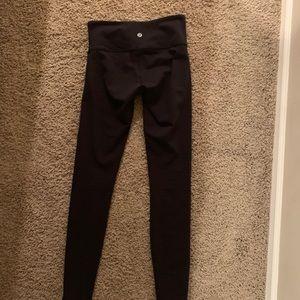 lululemon black wonder under leggings